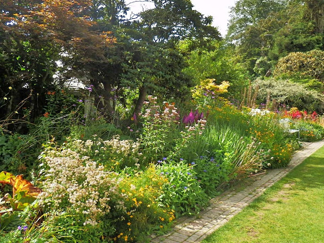 Sundial garden at Lost Gardens of Heligan, Cornwall