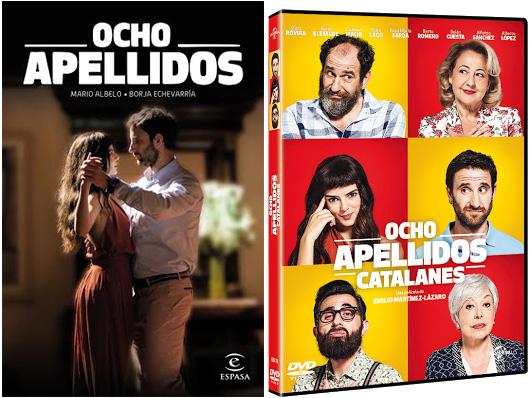 Concurso 'Ocho Apellidos Catalanes DVD': Tenemos para vosotros 1 libro y un DVD de la película