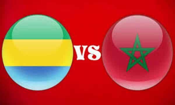مشاهدة مباراة المغرب والجابون مباشر