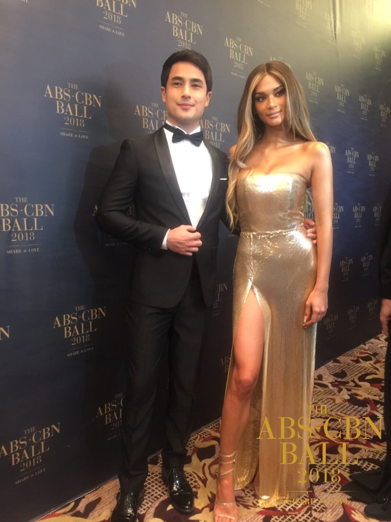 Marlon Stockinger and Pia Wurtzbach