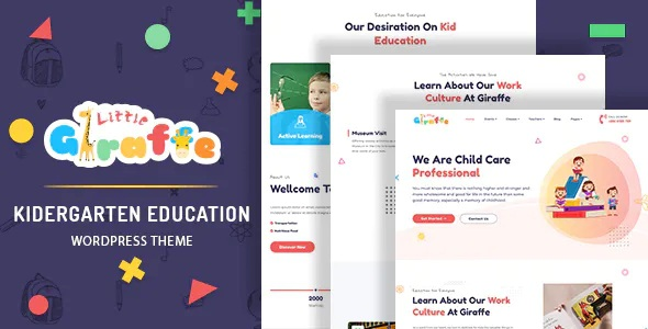 Best Kindergarten Education WordPress Theme