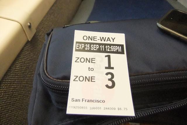 caltrain-ticket カルトレインチケット