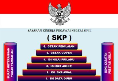 Download Aplikasi SKP PNS Terbaru 2017 Untuk Semua Golongan