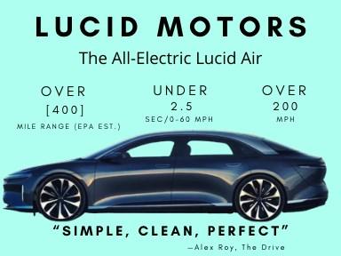 lucid motors air