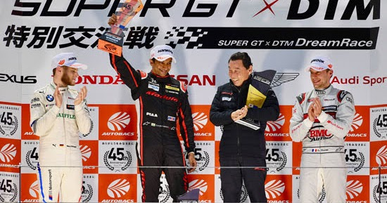 Karthikeyan gewinnt sensationelles Dream Race am Sonntag in Fuji