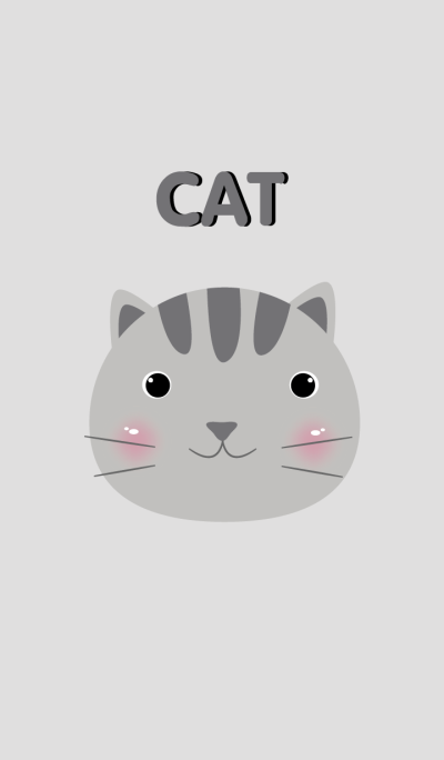 Simple gray cat theme v.2