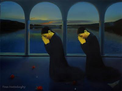 Between Strangers-Oil on canvas-148x117cm -HuesnShades