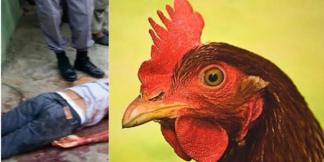 """Hombre le quitó la vida a su cuñado a machetazos """"Por una gallina""""."""