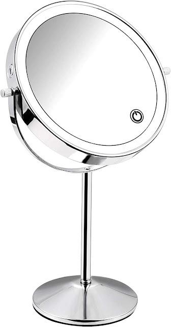 Micacron  Miroir Maquillage Lumineux LED de Vanite