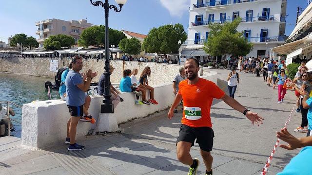 Χρυσό Μετάλλιο για τον Σταμάτη Χατζησταύρου από το Κρανίδι στο Spetses Mini Marathon