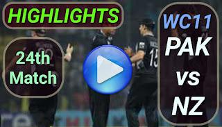 PAK vs NZ 24th Match