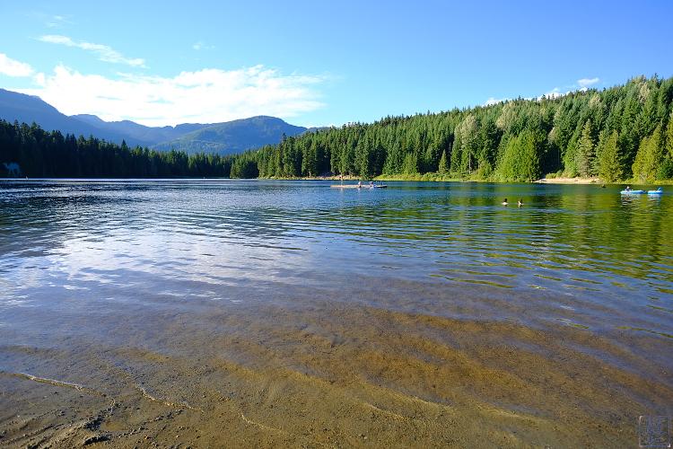 Le Chameau Bleu - Balade a Lost Lake Whistler Colombie Britannique Canada