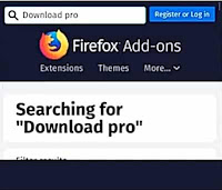 Firefox add-ons Search bar,Firefox extensions Search bar
