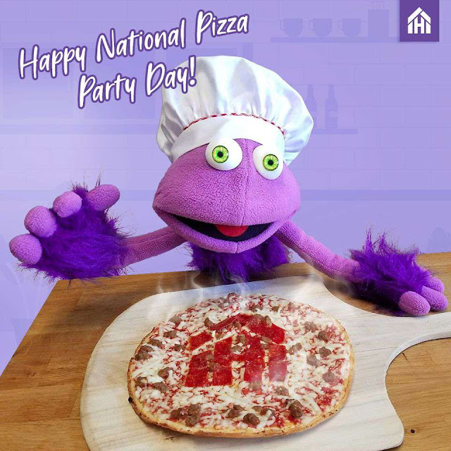 National Pizza Party Day Wishes Pics