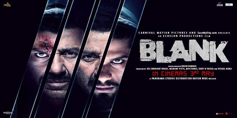 Blank Hindi Movie Screen Count Advance Booking Report Poster