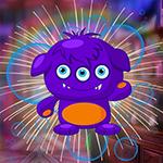 G4K Fancied Purple Creature Escape