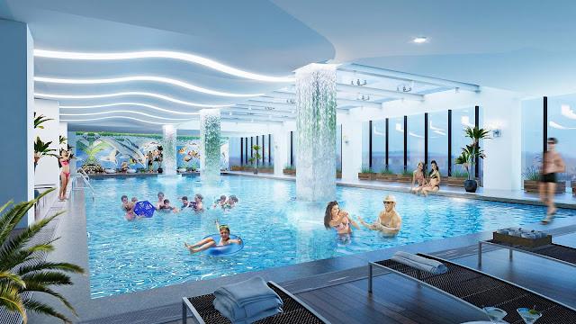 Bể bơi dự án Florence