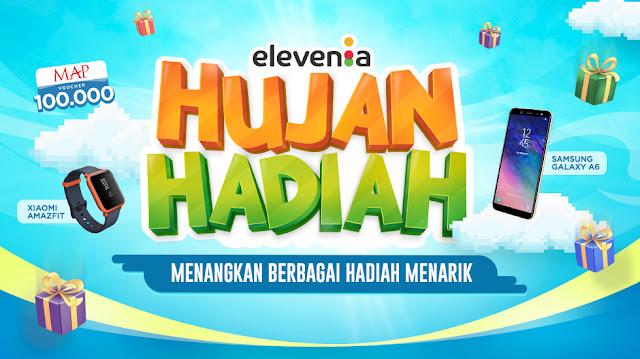 Elevenia - Promo Hujan Hadiah & Hadiah Menarik (s.d 30 September 2018)