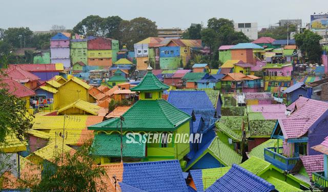 Perbedaan Kampung Wisata Tridi dan Warna Warni Jodipan Malang