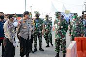 Kapolda Jateng Cek Penyekatan Pemudik di Tol dan Jalan Pantura Brebes