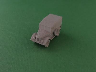 GAZ 69 Truck picture 1