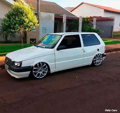 Fotos Fiat Uno Rebaixado Branco