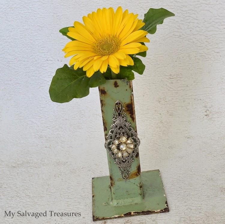 repurposed vase