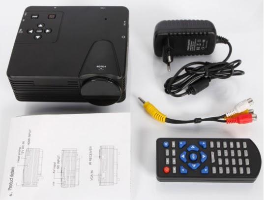 TV LED Proyektor Paling Murah Bisa 100 Inchi
