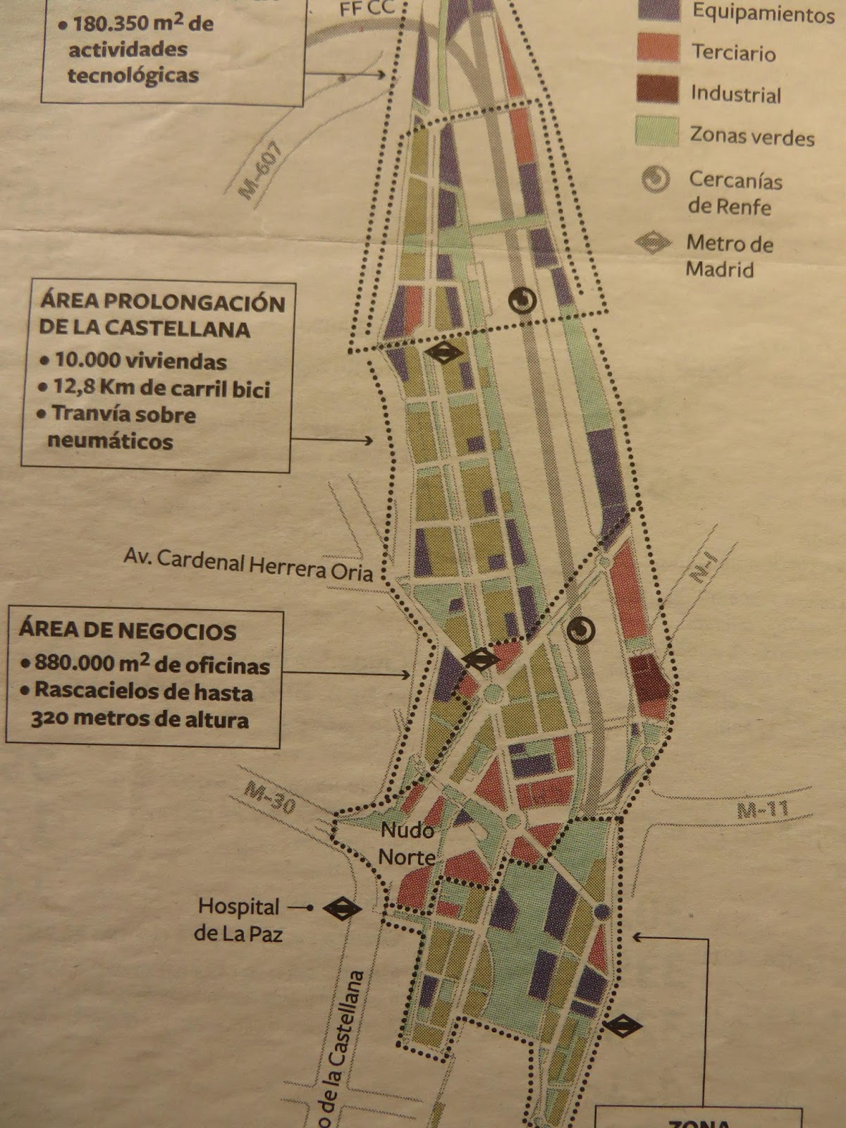 Paisaje transversal blog operaci n chamart n for Oficinas de renfe en madrid