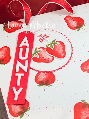 Stampin up Sweet Strawberry
