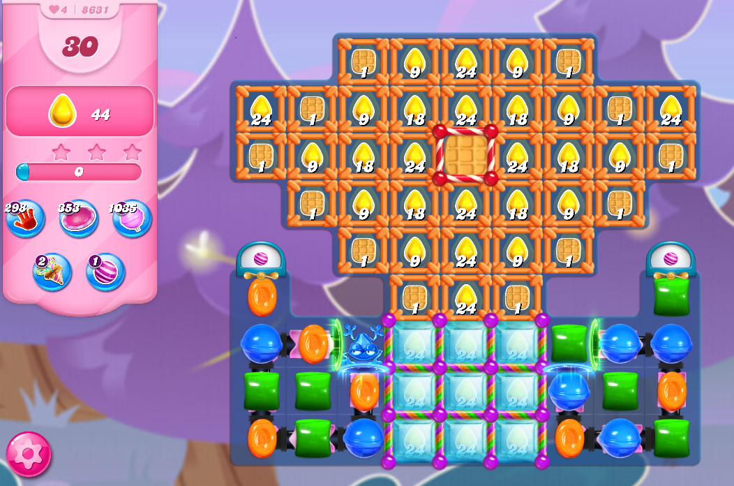 Candy Crush Saga level 8631