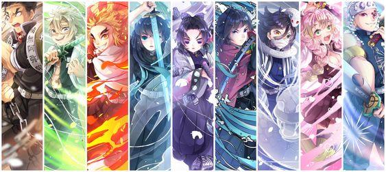 The hashira are the nine. Demon Slayer: Kimetsu no Yaiba Review - Everything You May ...