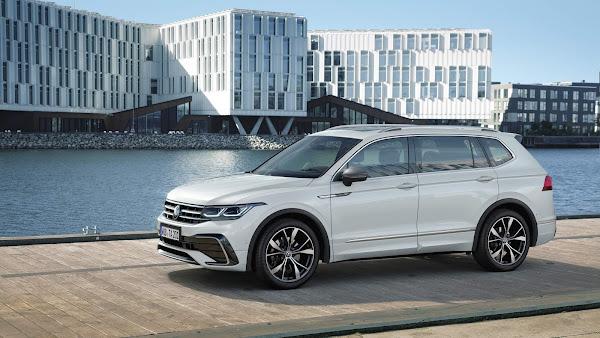 Novo VW Tiguan AllSpace 2022 é lançado também na Europa