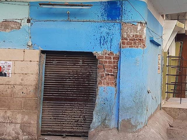 اخلاء منزل ايل للسقوط بمنطقة الغياتية بسوهاج