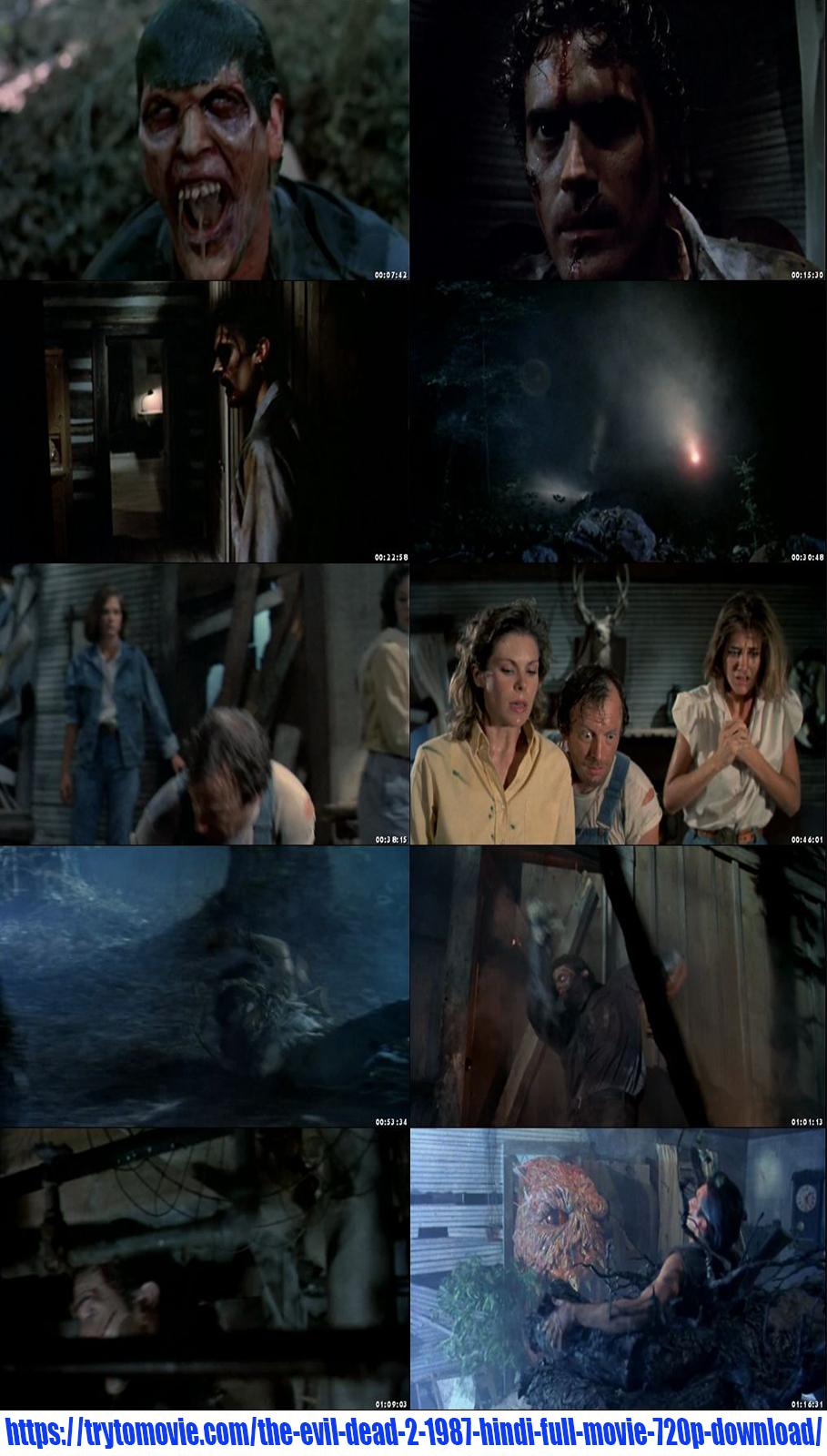 The Evil Dead 2 1987 Hindi Full Movie 720p Download