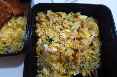 Din Tai Fung, charcoal grilled bak kwa fried rice