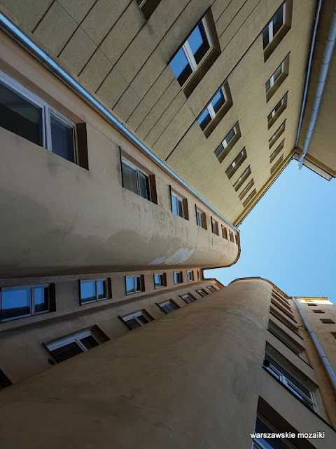 Warszawa Warsaw architektura architecture Oficyna Wydawnicza PW Śródmieście Henryk Stifelman Stanisław Weiss Salomonowicz Bratnia Pomoc akademik Politechnika Warszawska