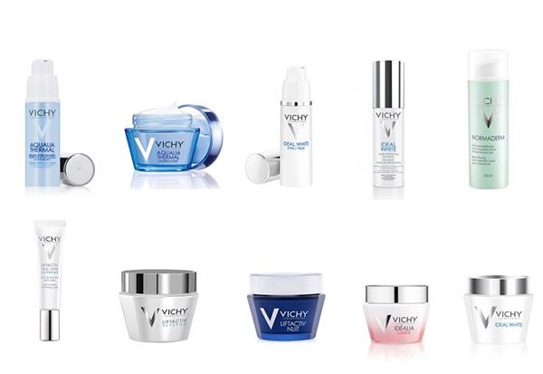 Các sản phẩm của Vichy