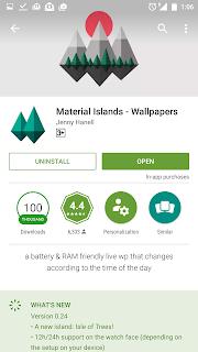 Mempercantik Tampilan Android Dengan Material Wallpaper