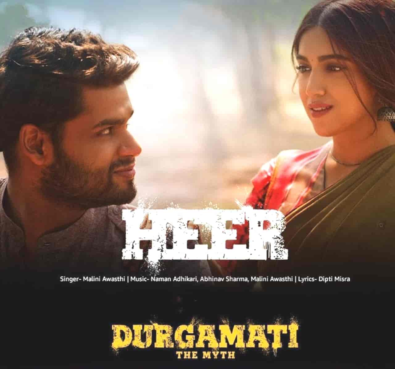 Heer Hindi Song Image Features Bhumi Padnekar