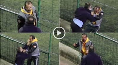 Pelea de padres en partido de fútbol juveniles Telde - Guía, Gran Canaria, da la vuelta al mundo