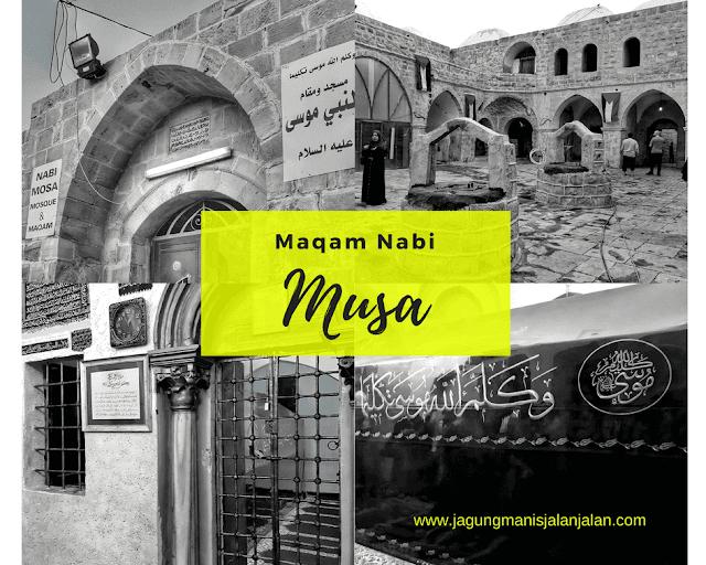 Maqam Nabi Musa 'alaihi wa sallam di kota jericho palestina
