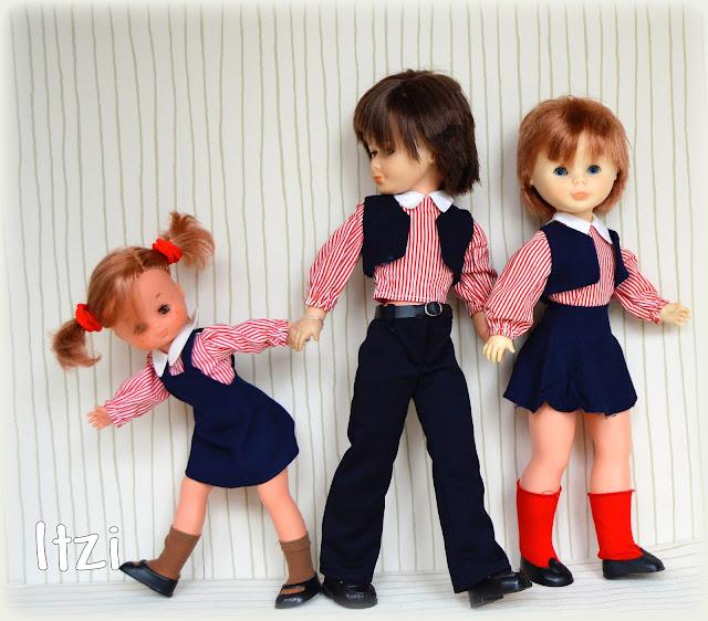 Nancy de Famosa, Nancy, Lucas, Lesly colegiala , Vuelta al cole