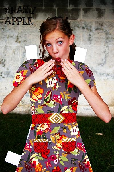 Diy Girls Halloween Costume Paper Doll