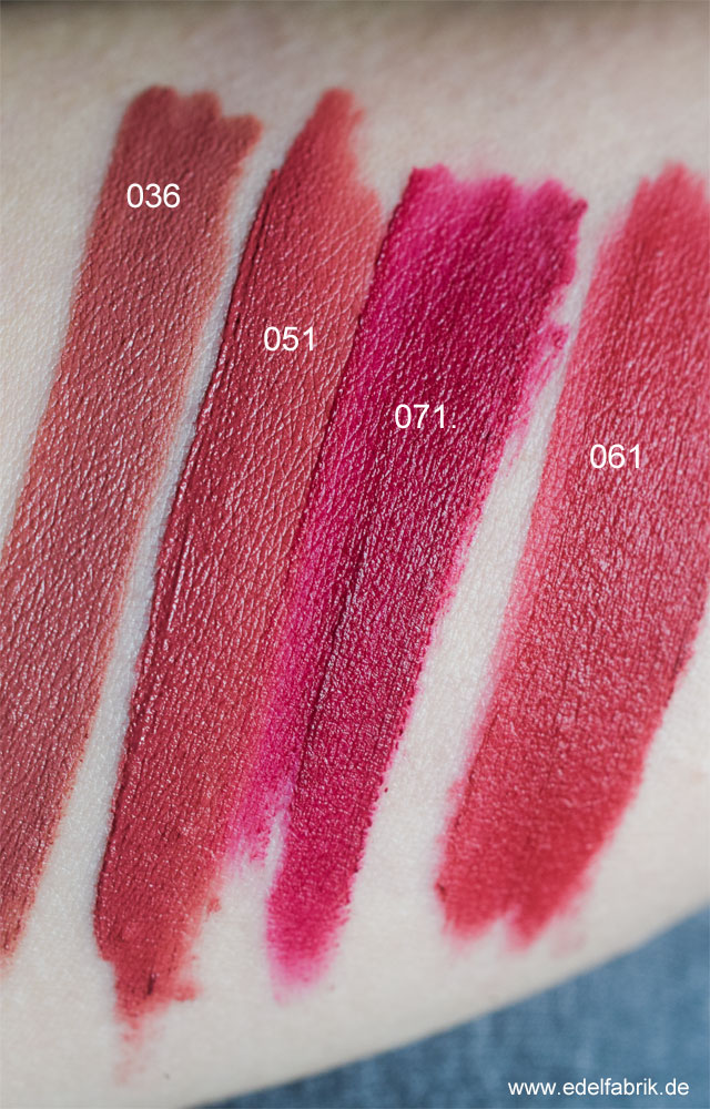 trend IT UP Ultra Matte Lipcreams, Swatch
