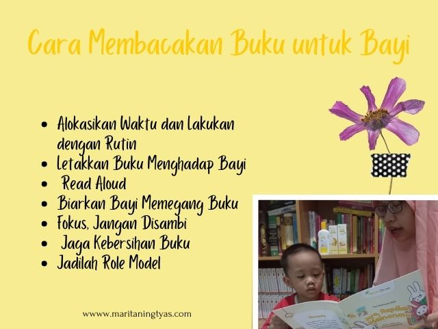 cara membacakan buku untuk bayi