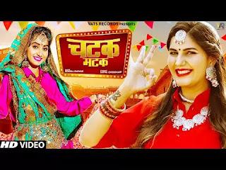 Chatak Matak Sapna Choudhary Song