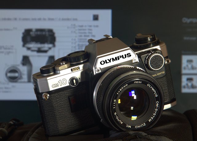 Used Olympus OM-10 w/ Manual Adapter