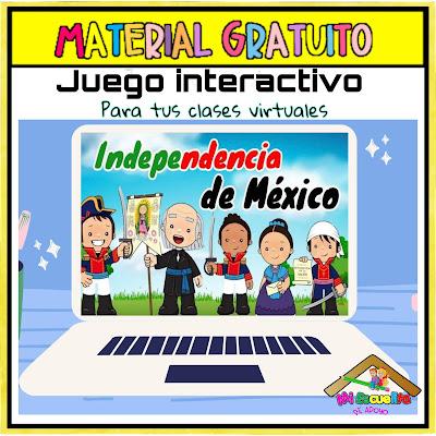 juegos sobre la independencia de méxico para niños