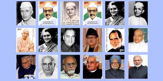 भारत के सभी प्रधानमंत्री